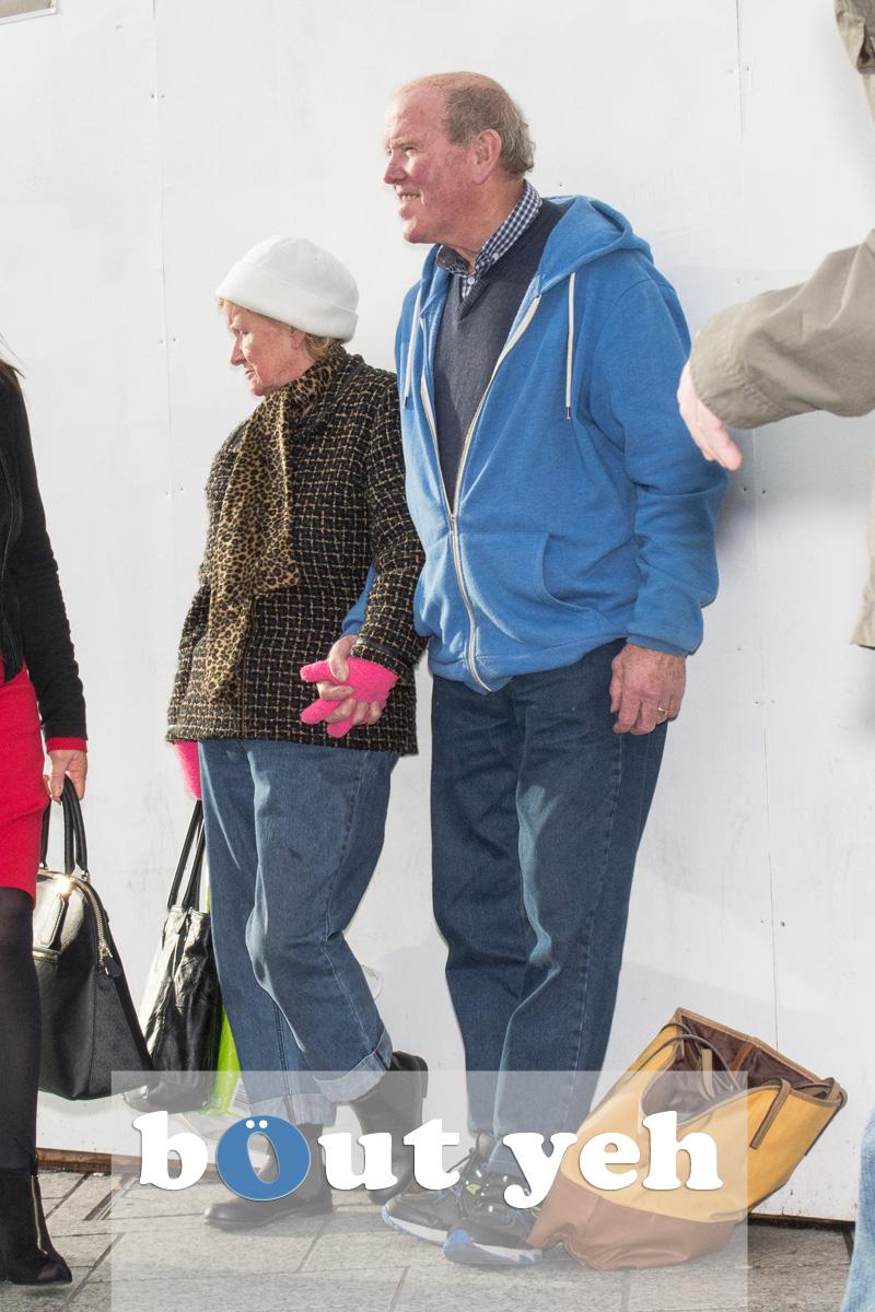 Elderly couple, Belfast. Photo 2691.