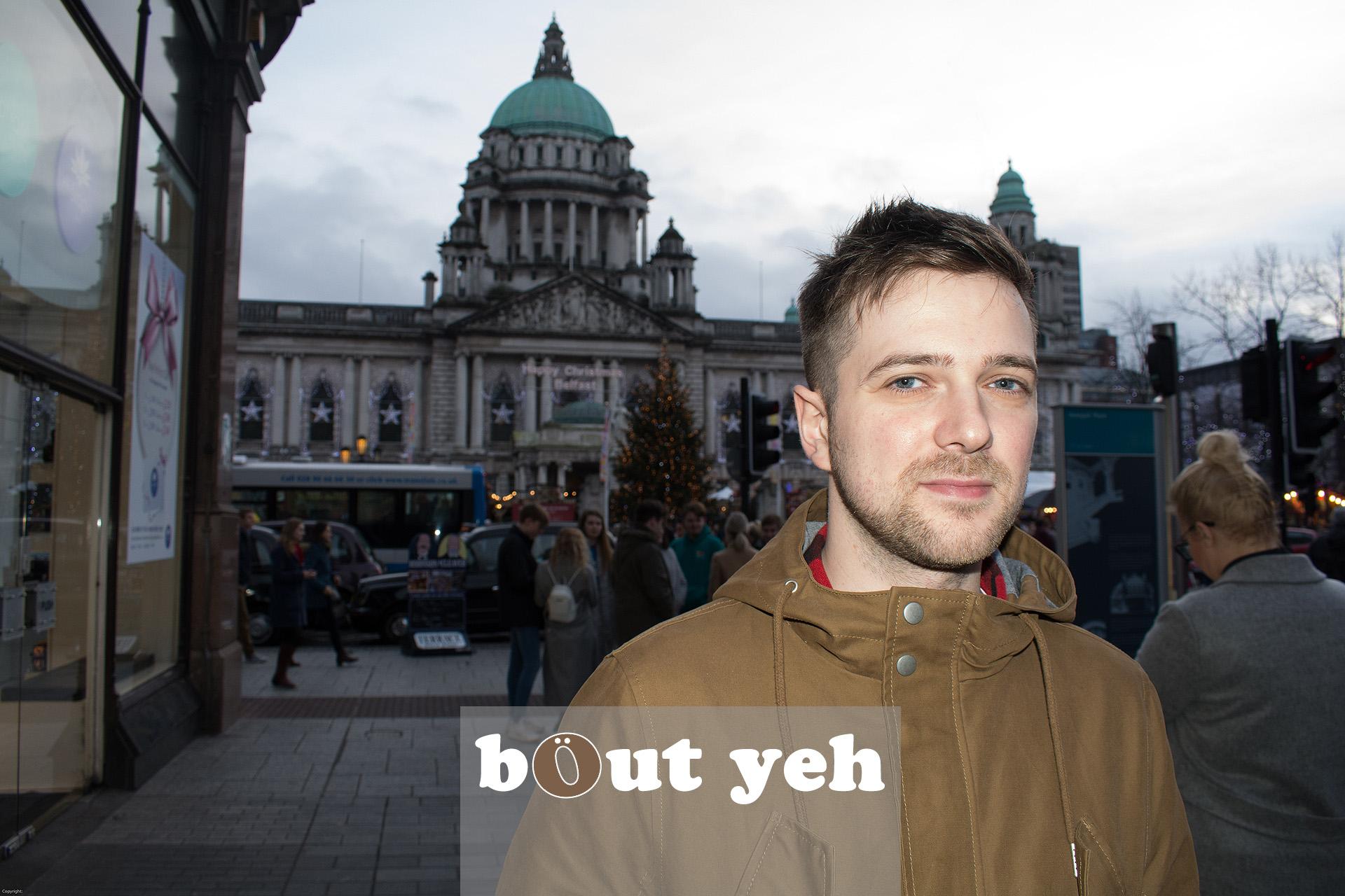 Green Pastures Church interns in Belfast. Photo 3256.