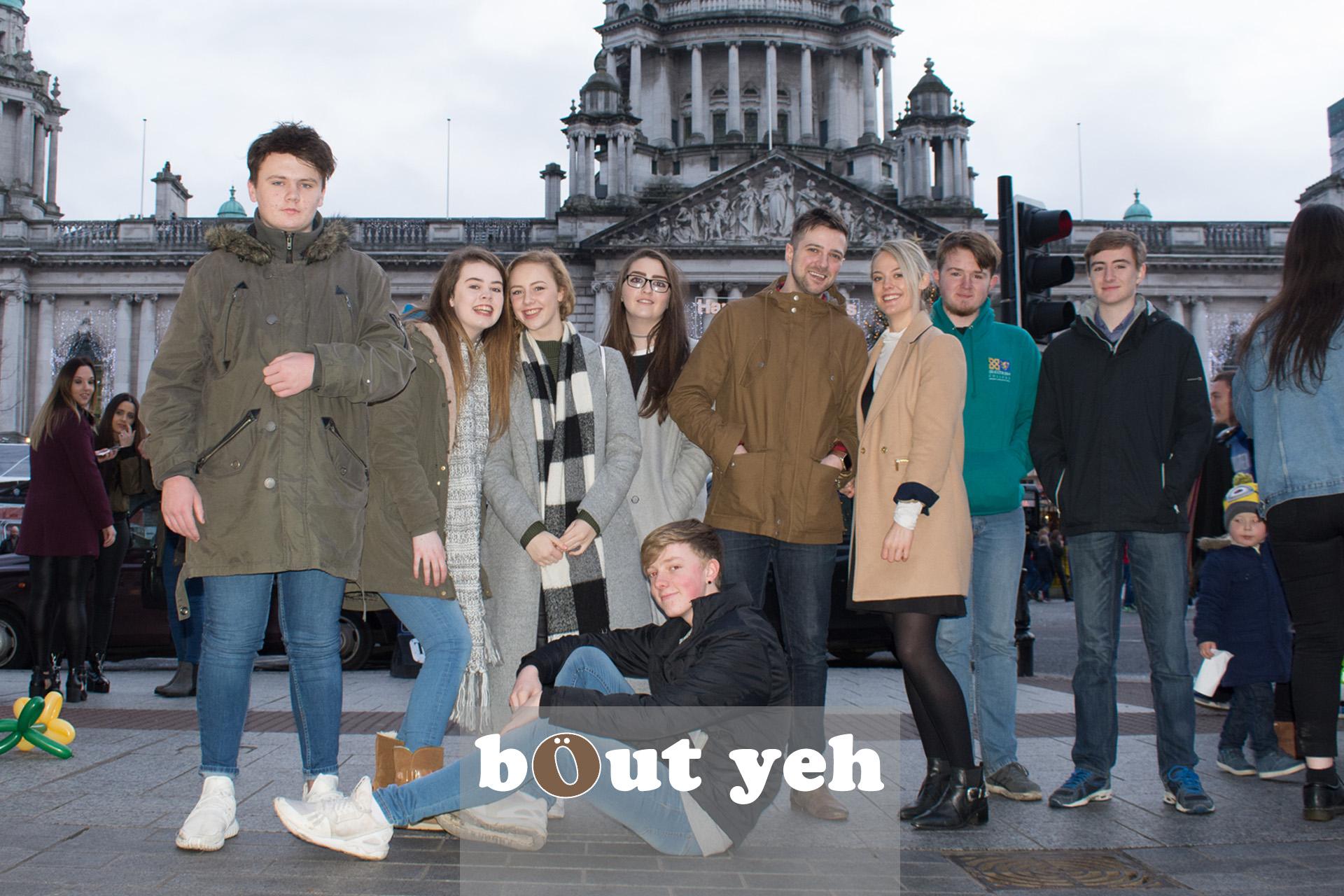 Green Pastures Church interns in Belfast. Photo 3260.