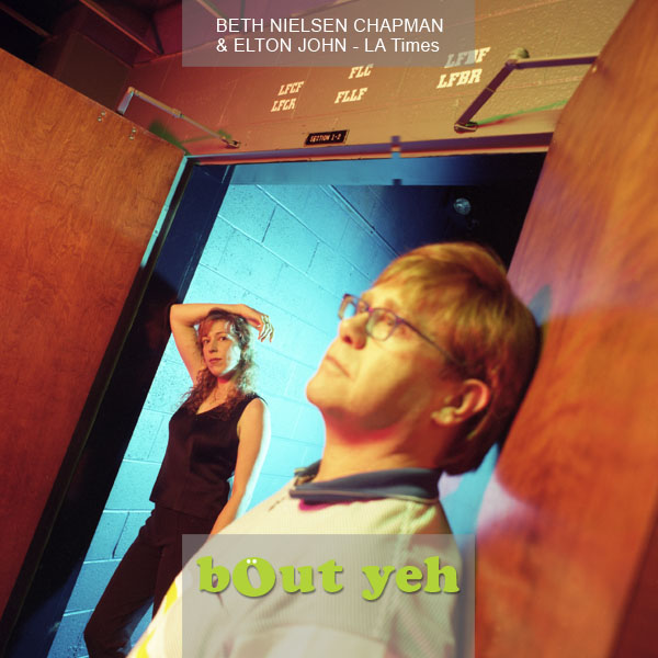 Elton John and Beth Nielsen Chapman photograph by photographer Stephen S T Bradley - portfolio photo.