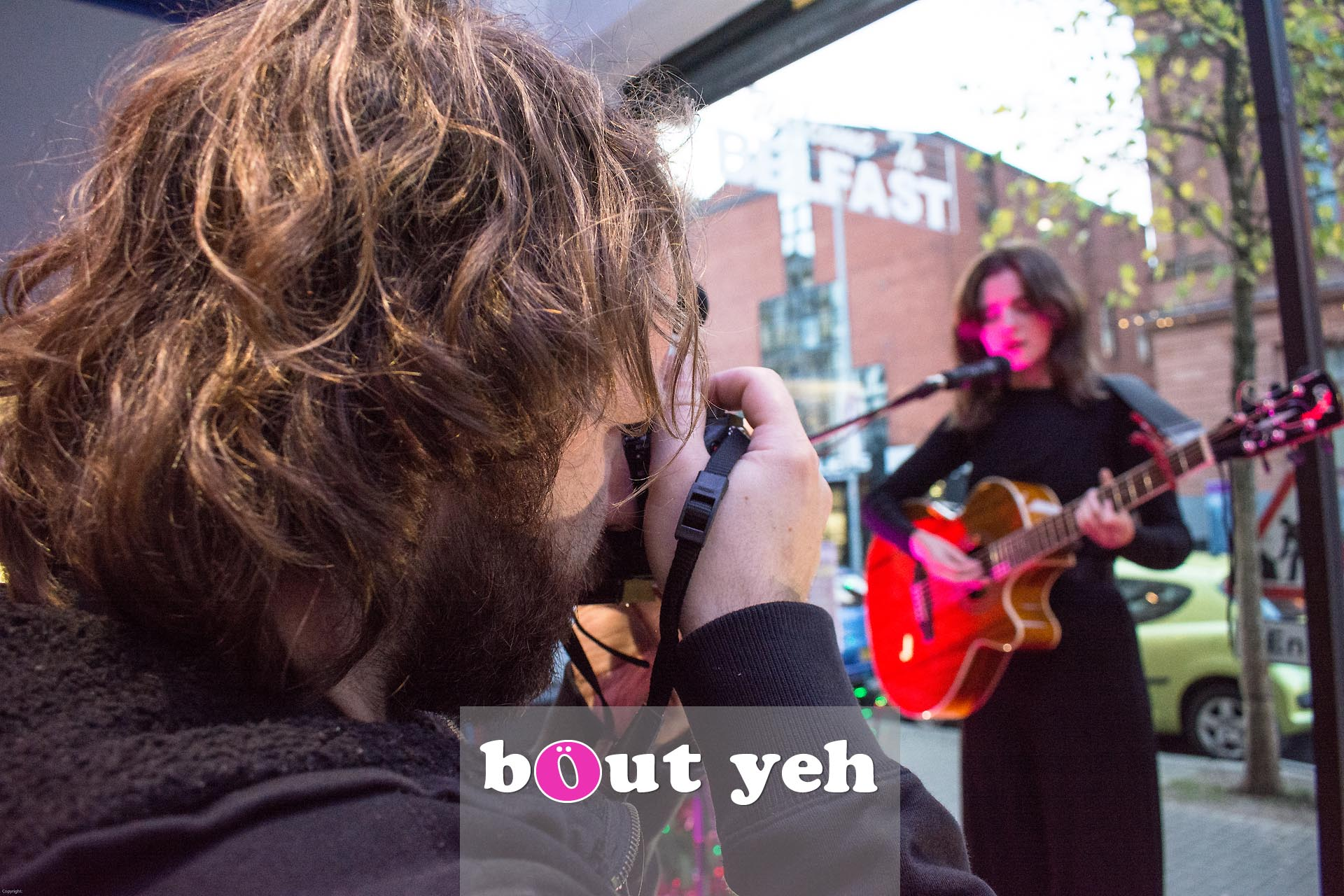 Rosie Carney singer concert at Dawsons Musical Instruments in Belfast - photo 2847.