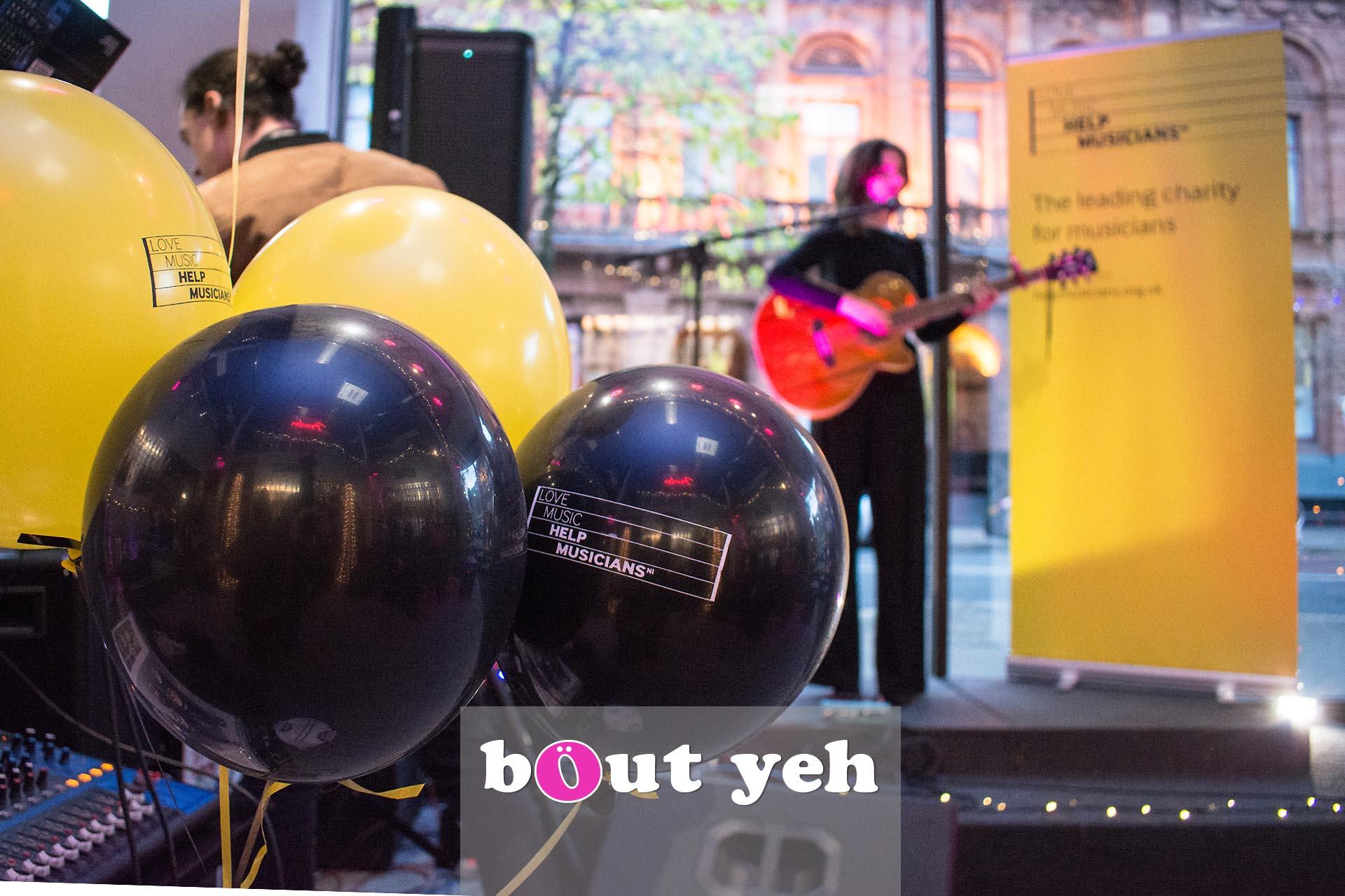 Rosie Carney singer concert at Dawsons Musical Instruments in Belfast - photo 2850.