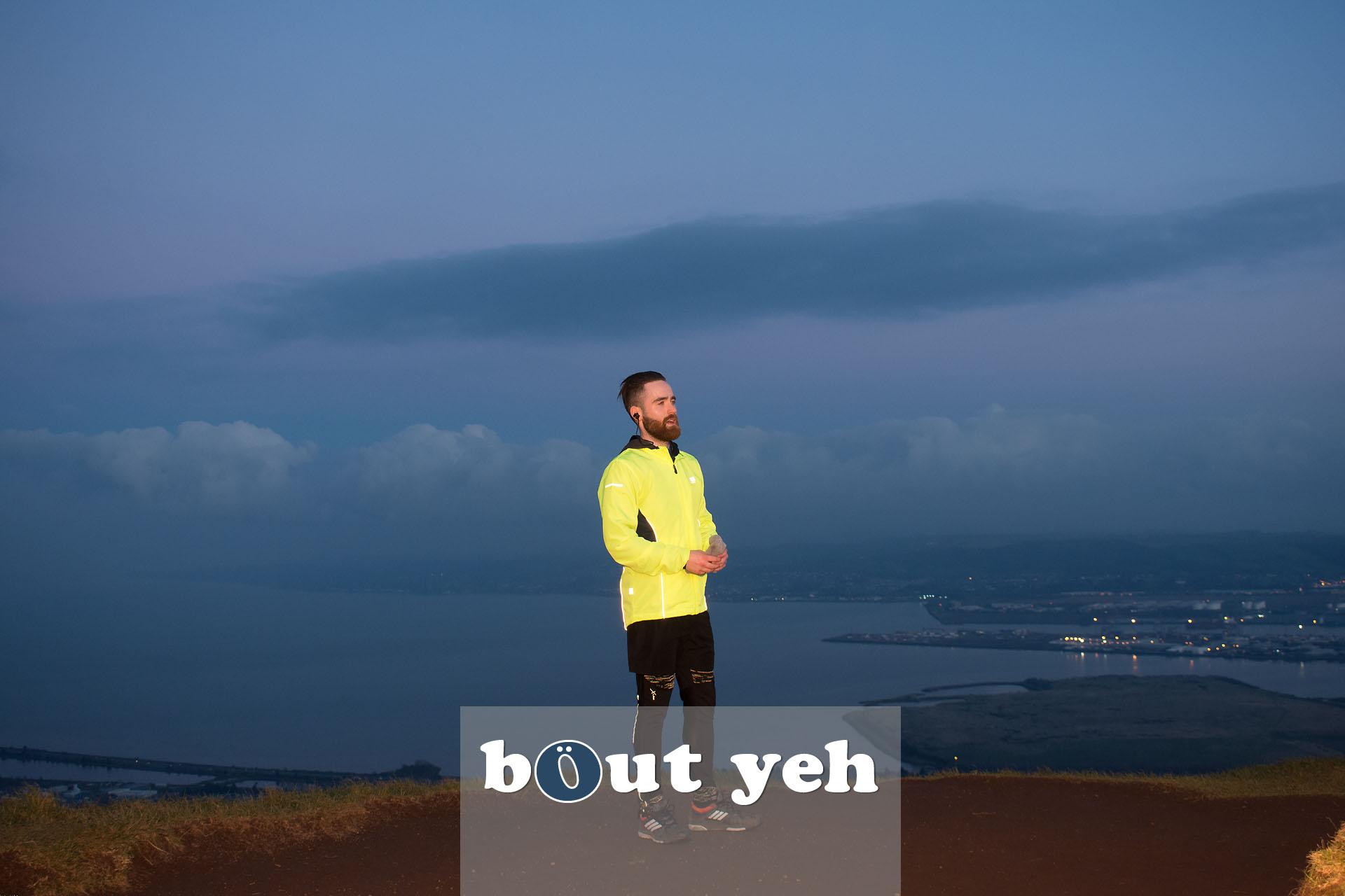 Hill runner at McArts Fort, Cavehill, Belfast, Belfast - photo 4131.