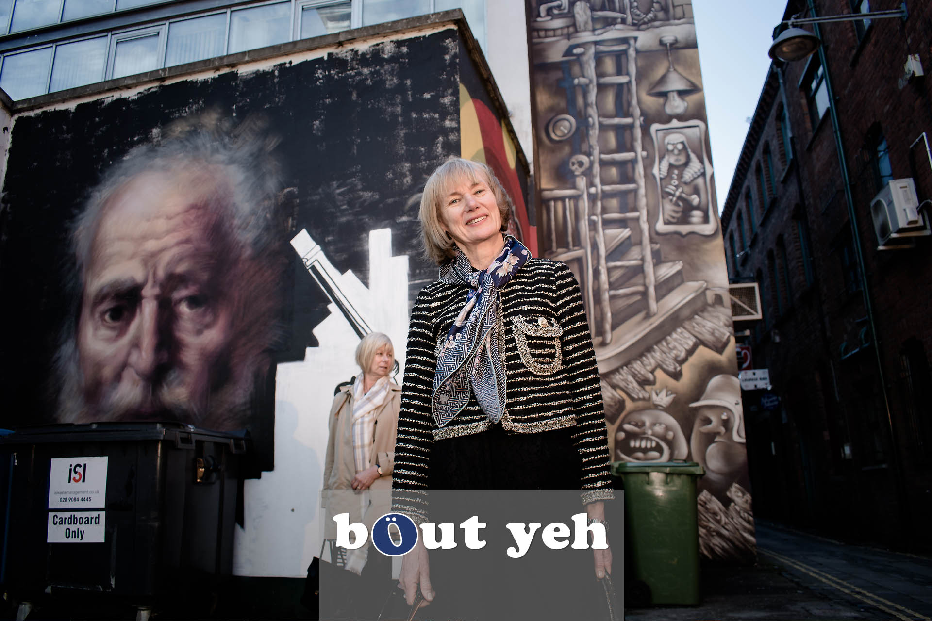 Sharon and Dot, Exchange Place, Belfast - photo 4660.