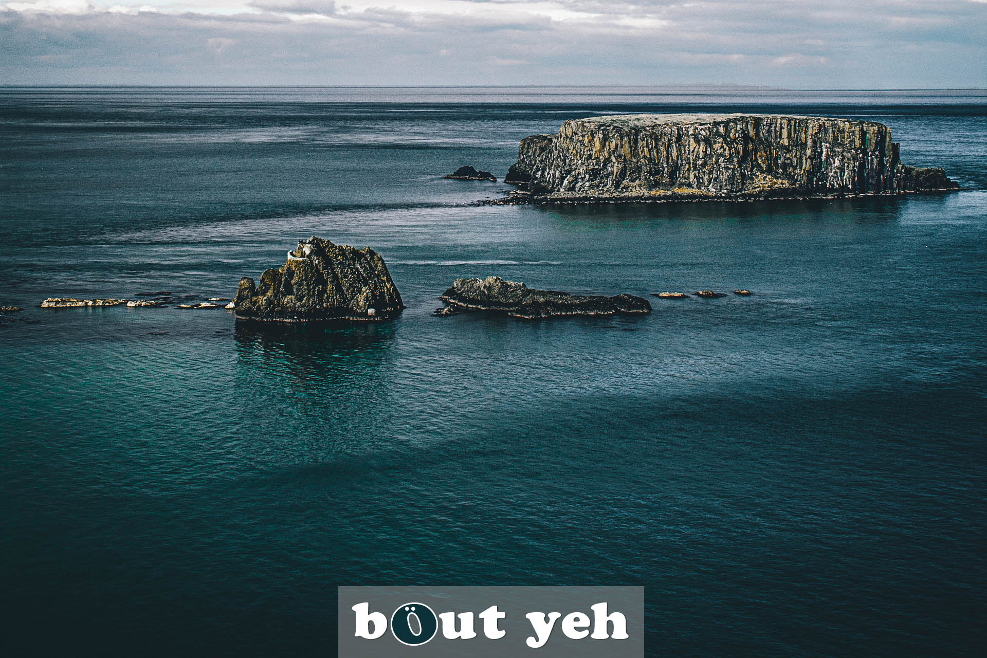 Landscape photograph by Jamie of the Carrick-a-Rede area in Northern Ireland.