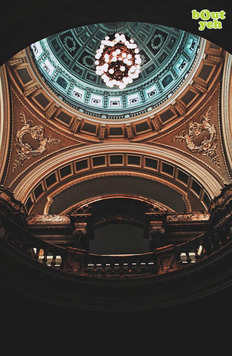 City Hall Belfast interior, Northern Ireland.