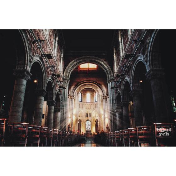 Ireland landscape photograph - Saint Annes Belfast Cathedral, Belfast, Northern Ireland. Reference D Halouzka 1.
