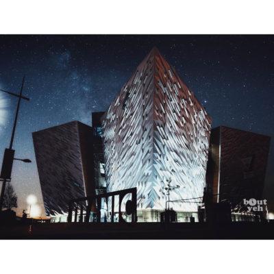 Ireland landscape photograph -Titanic Belfast, Northern Ireland. Reference D Halouzka 1.
