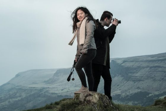 Maikel and Mai-Lin, Glenariff Forest, Northern Ireland. Photo 0645. Featured image.