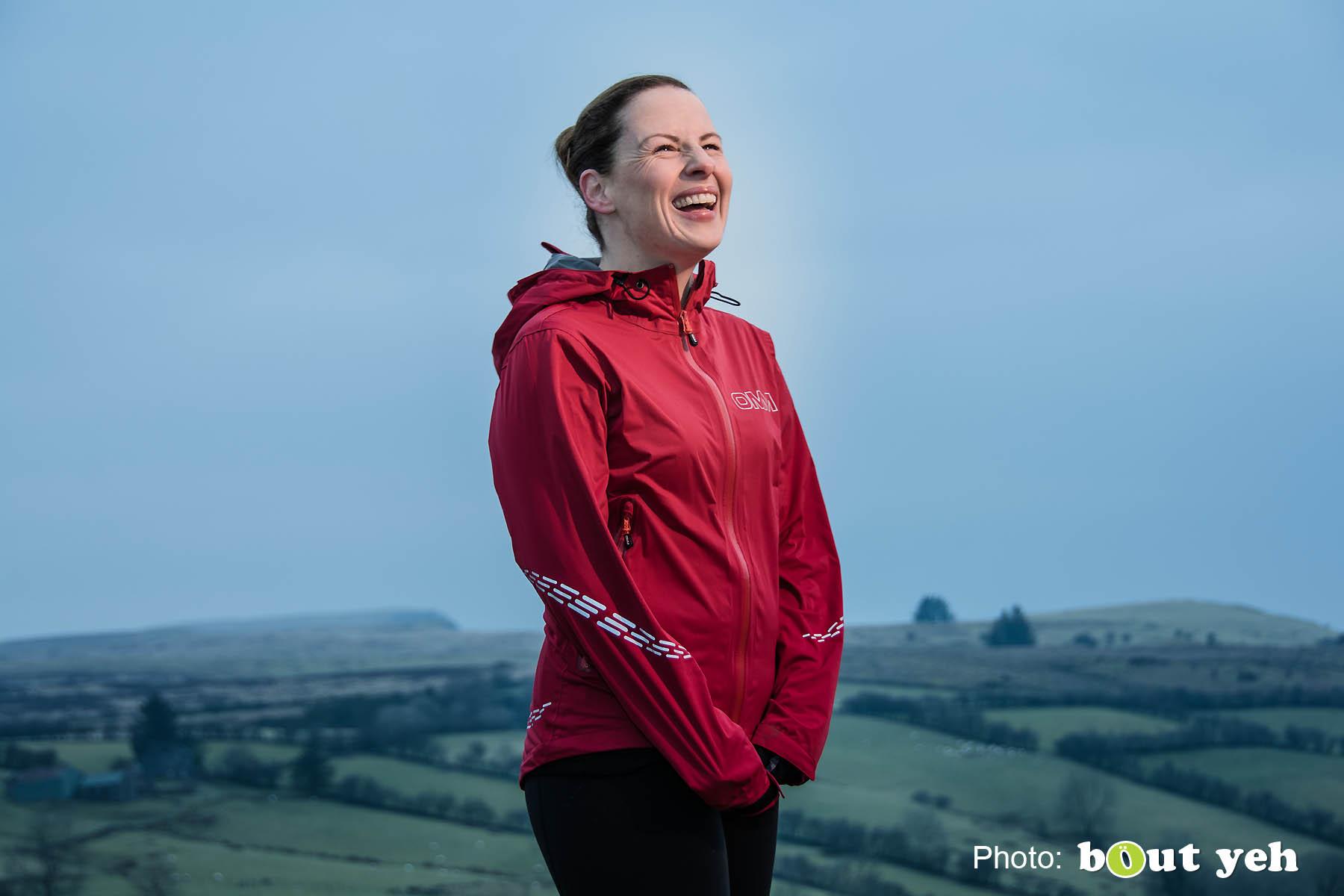 Emma, of Ballymena Runners, at Glenariff Forest, Northern Ireland. Photo 0667.