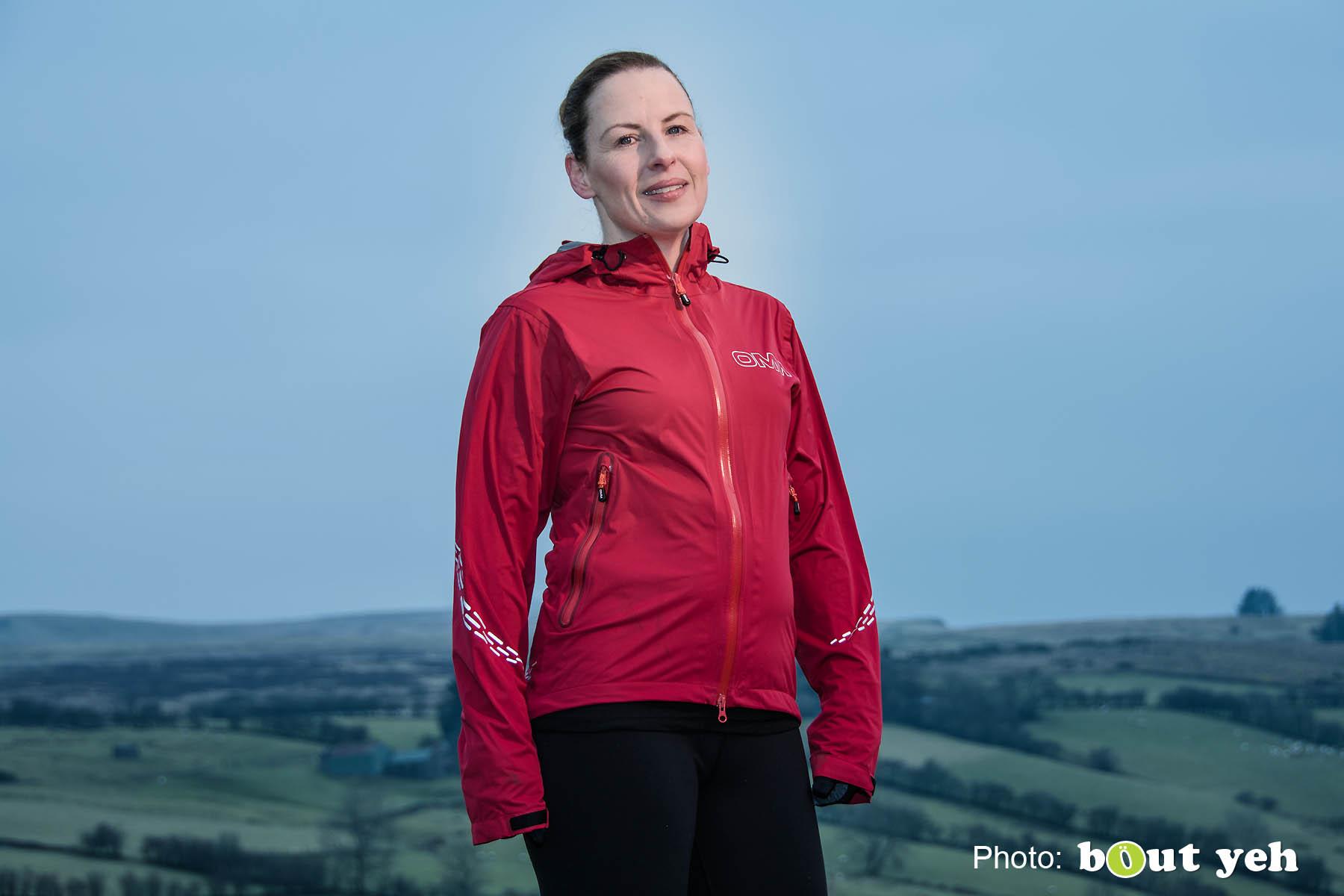 Emma, of Ballymena Runners, at Glenariff Forest, Northern Ireland. Photo 0669.