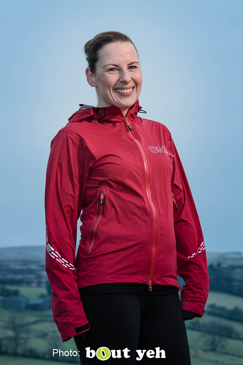 Emma, of Ballymena Runners, at Glenariff Forest, Northern Ireland. Photo 0670.