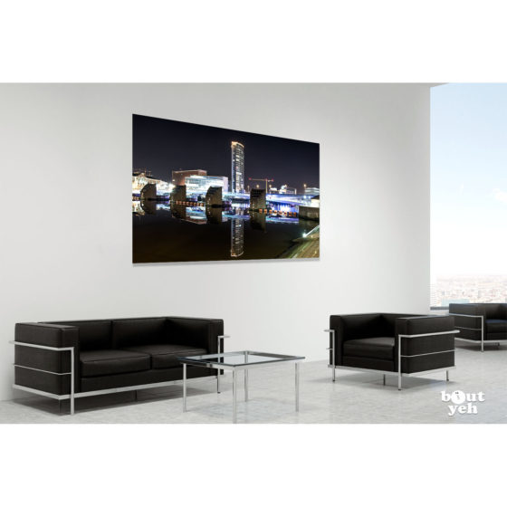 Ireland landscape photograph in room setting - Obel Tower, Belfast, photo 0148.