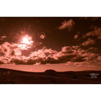 Ireland landscape photograph - Slemish Mountain, Northern Ireland, photo 1939.