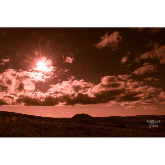 Ireland landscape photograph - Slemish Mountain, Northern Ireland, photo 1939.