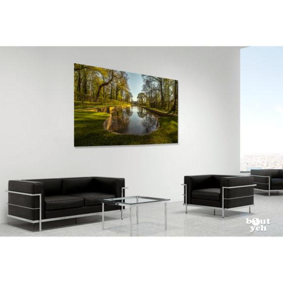 Sunny Summer Antrim Castle Gardens, Northern Ireland - photo in room setting.