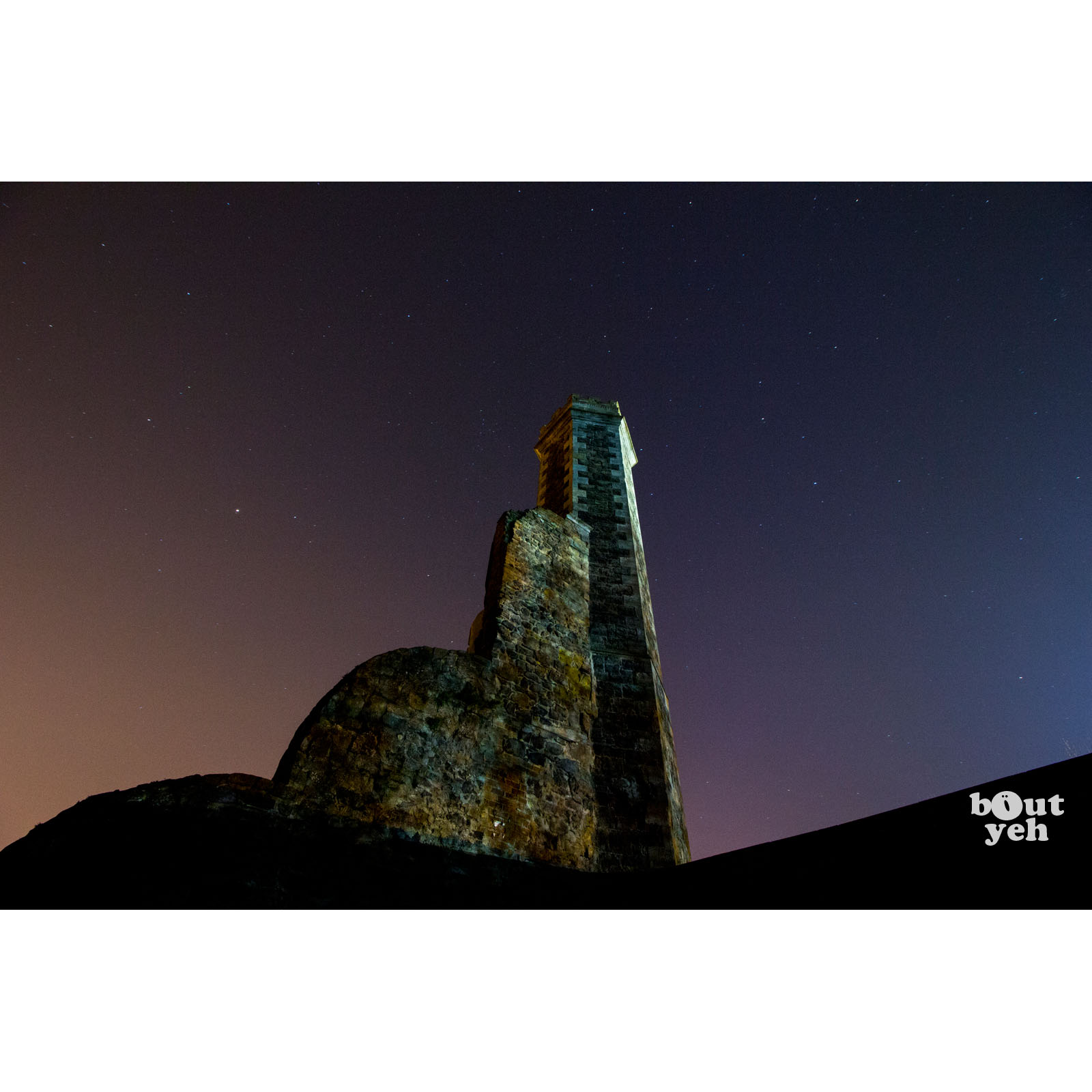 Image - Featured photographer, Justin McLean, photograph of castle ruins, Antrim, Northern Ireland.