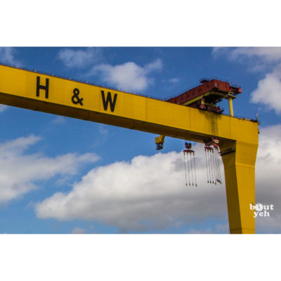 Harland and Wolff Crane, Belfast photo for sale.
