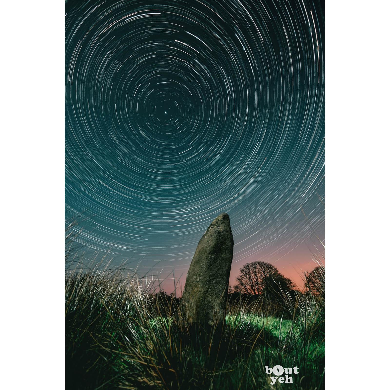 Ballard Stone Northern Ireland by rskb - photographic print for sale.