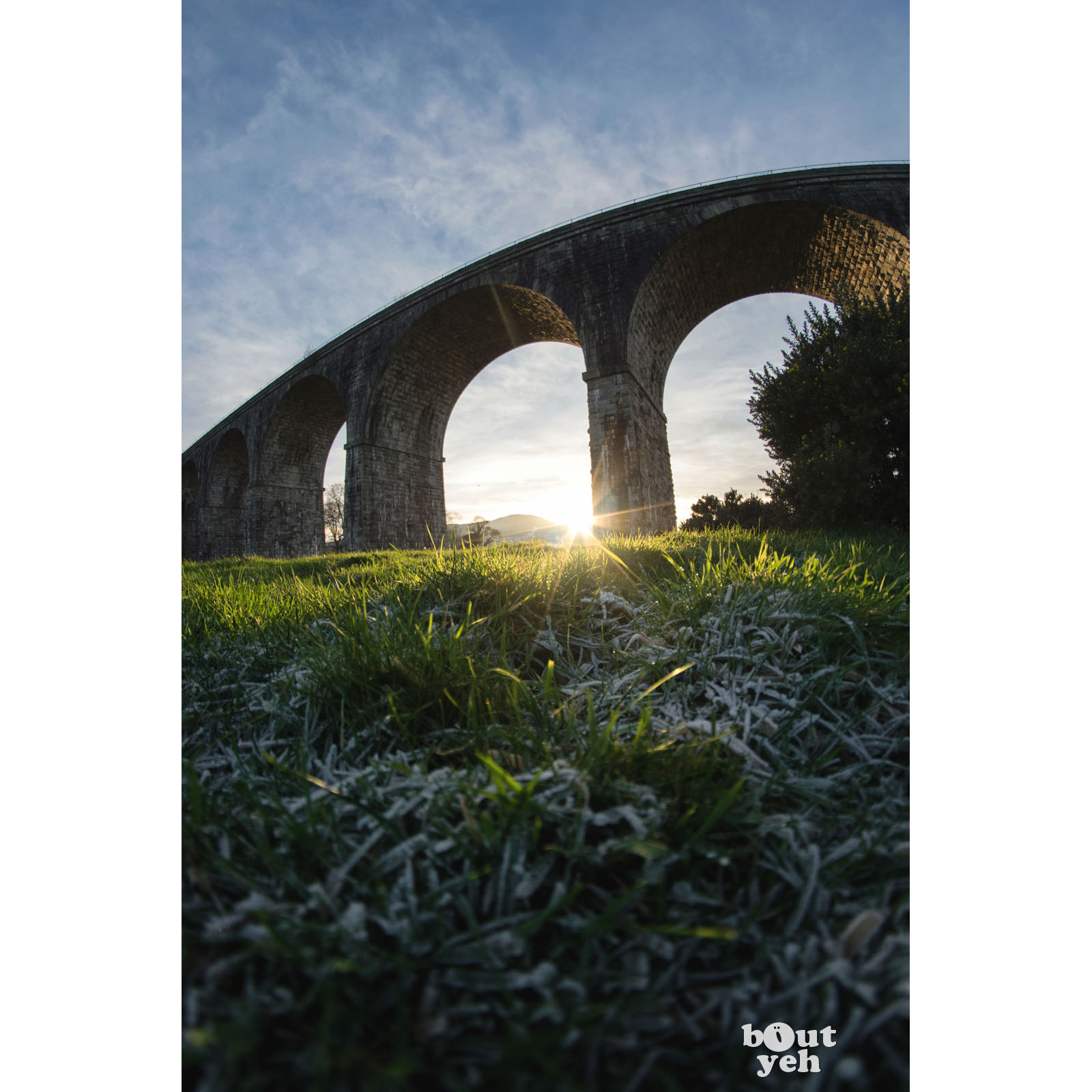 Craigmore Viaduct, Northern Ireland - photographic print for sale.
