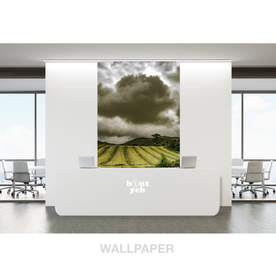 Clonmany cloudscape Donegal by sm - photographic print wallpaper.