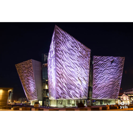 Titanic Belfast Northern Ireland at night - photo 6033 by Bout Yeh