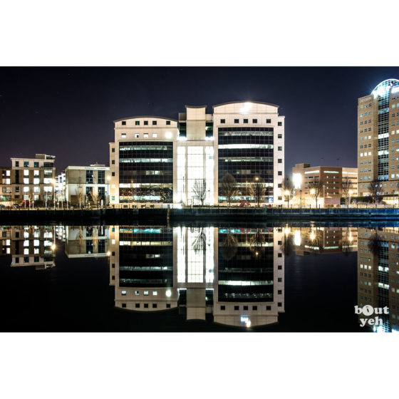 PWC Belfast - photographic print for sale by sb. reference 0116.