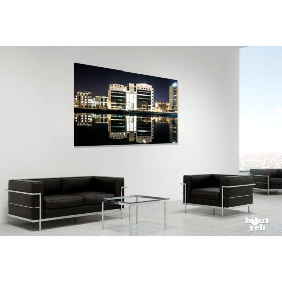 PWC Belfast - photographic print in room setting for sale. Reference sb 0116.