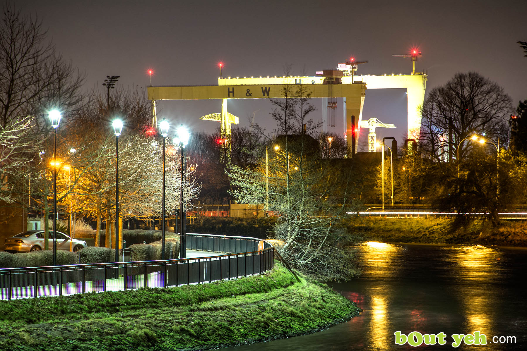 Harland and Wolff and River Lagan Belfast - photo 0329 by Bout Yeh photographers Belfast