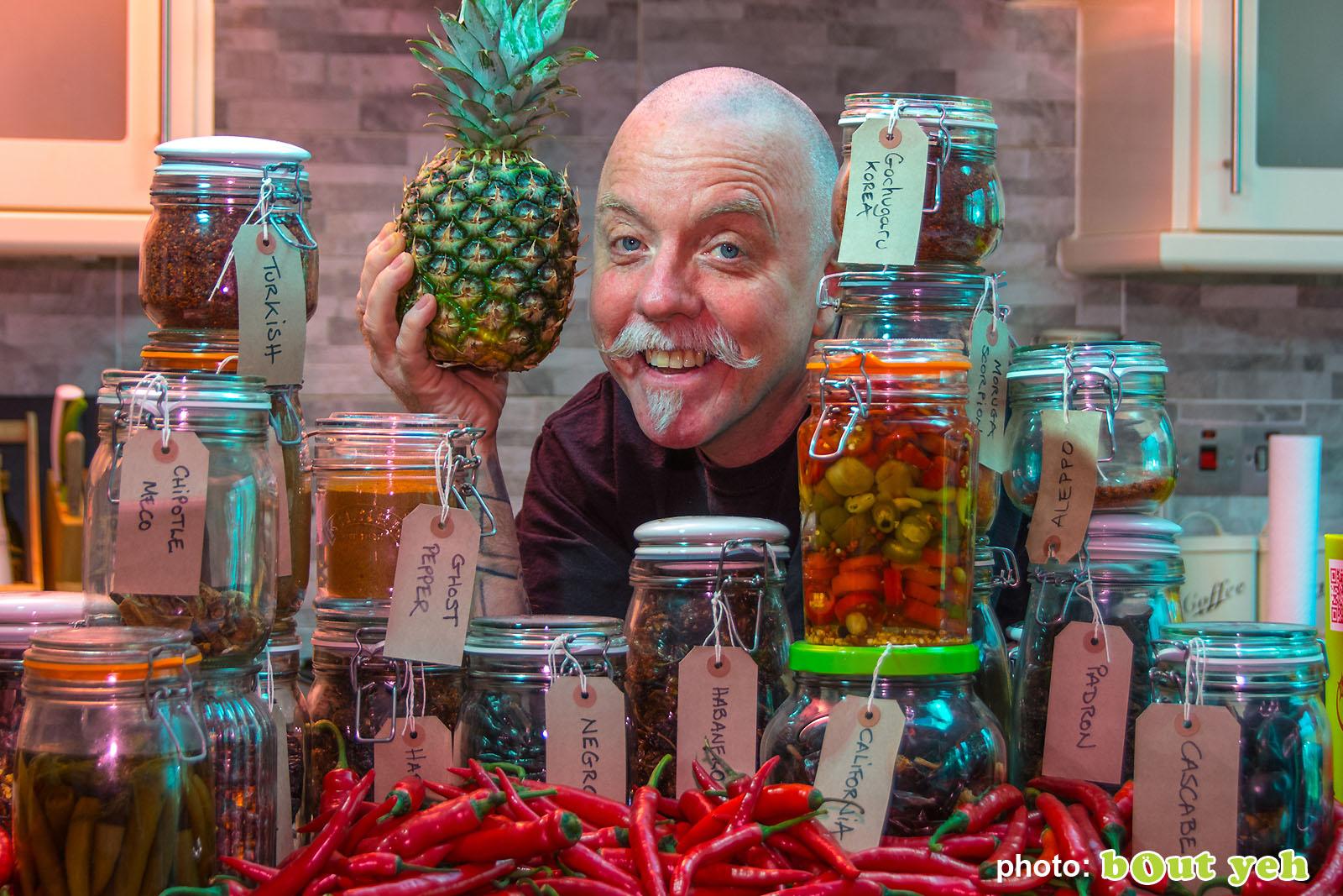 Tim McCarthy, Blackfire Hot sauces photo 6683 - Bout Yeh photographers Belfast