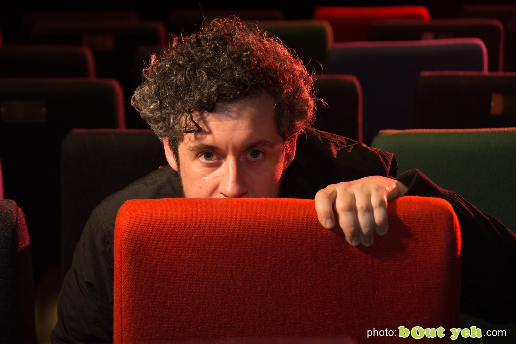 Lee Cronin, movie director photographed at Queens Film Theatre, Belfast - photo 6656.