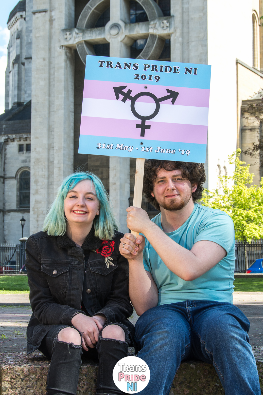 Trans Pride Northern Ireland Festival promotion photo 2019 by Bout Yeh photographers Belfast