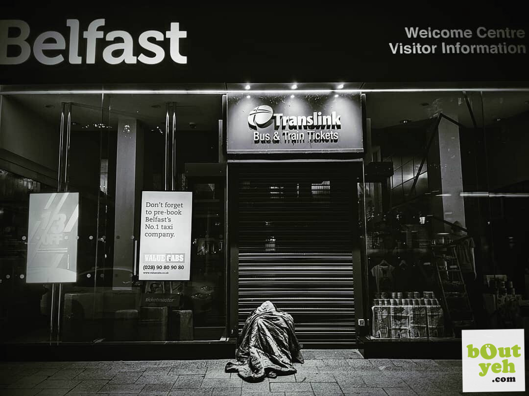 Homeless Person Belfast - photo 02-06-2019_10-32-08 shared by Bout Yeh photographers Belfast