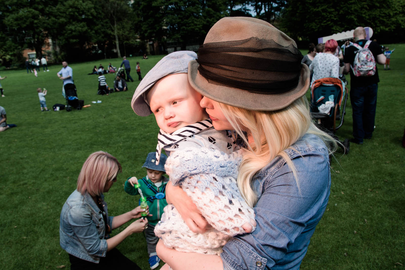 Petrina and son Isaac photographed by Bout Yeh photographers Belfast - press release page