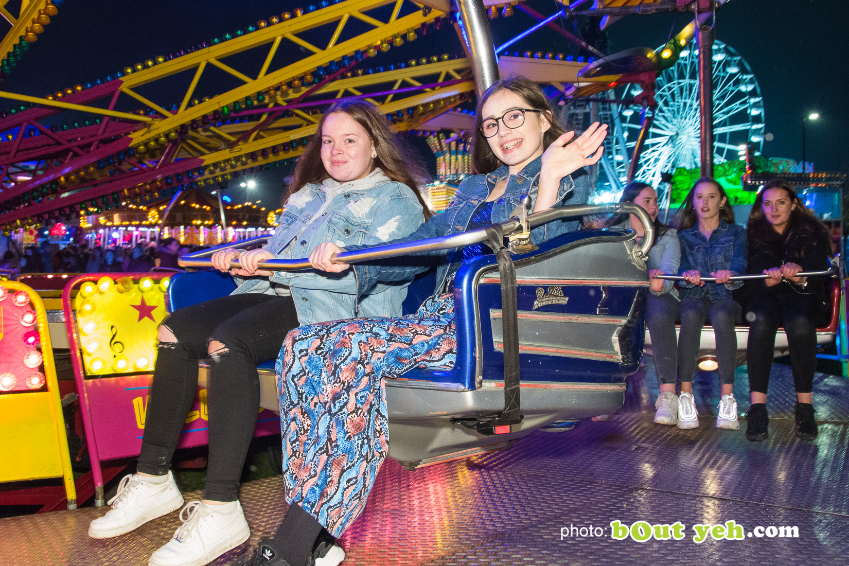 People enjoying halloween fireworks at V36 Park Newtownabbey, photo 9371 by Bout Yeh photographers Belfast