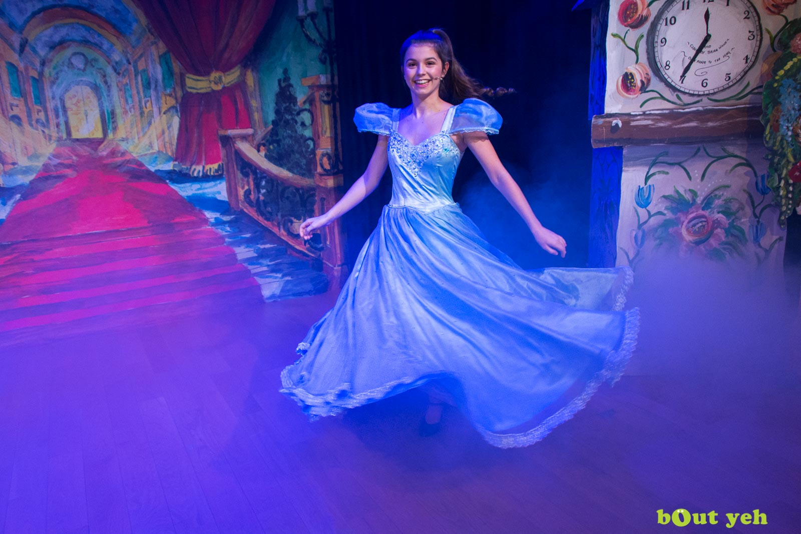PR photographers Belfast portfolio photo 9954 of Cinderella pantomime at the Old Courthouse Theatre Antrim - Bout Yeh photography and video production services Belfast, Northern Ireland