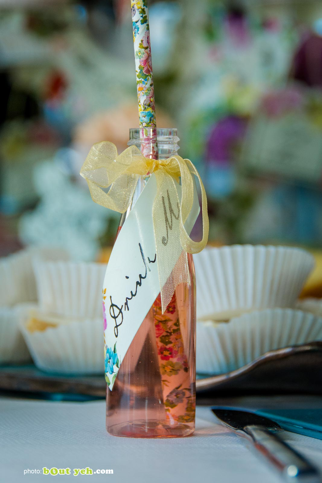 Drink Me words on small bottle at Bout Yeh Brexit Mad Hatters Tea Party photo 9268 - Bout Yeh photographers Belfast