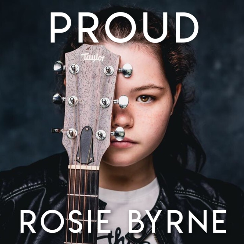 Dublin singer songwriter Rosie Byrne - promo photo for her song Proud. Image shared by Bout Yeh photographers and video production Belfast, Northern Ireland