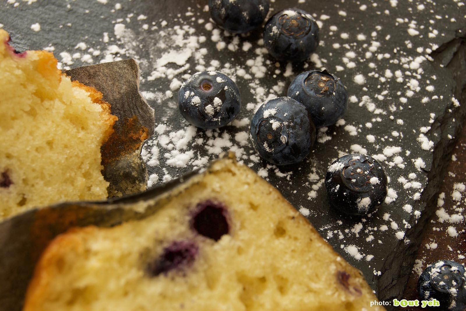 Food photographers Belfast portfolio photo 1356 - blueberries and blueberry muffins