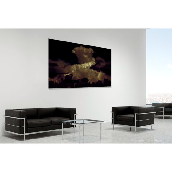 Night On Witch Mountain Redux - limited edition photographic print in room setting