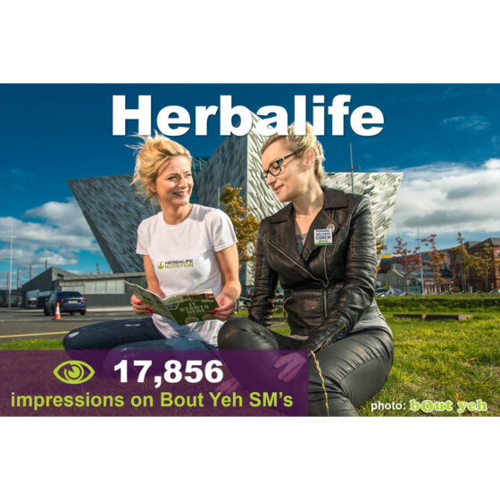 Shoot better images for Social Media - social media marketing tuition, Herbalife campaign photo