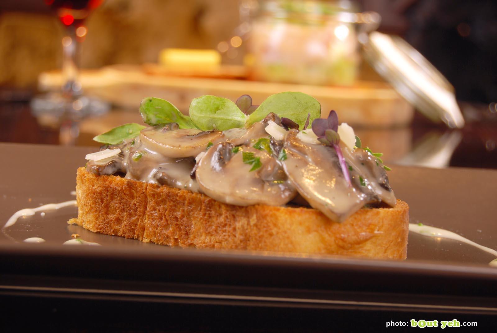 Food photographers Belfast portfolio photo 0826 - mushrooms on toast