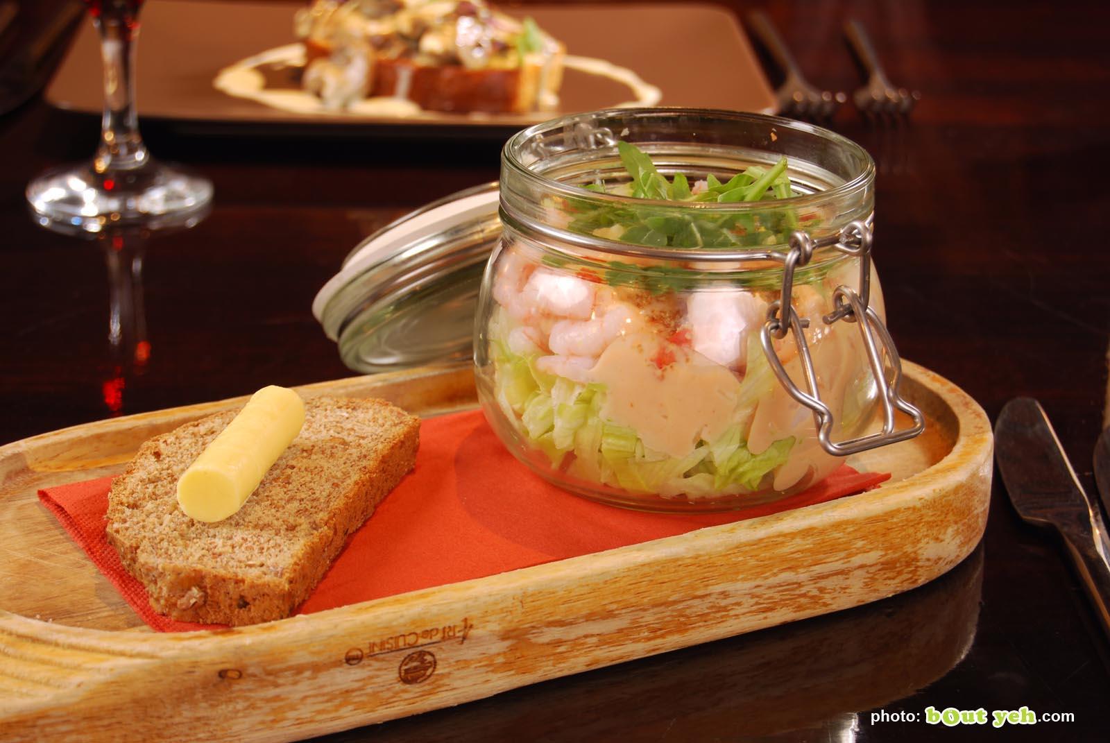 Food photographers Belfast portfolio photo 0830 - prawn cocktail with wheaten bread