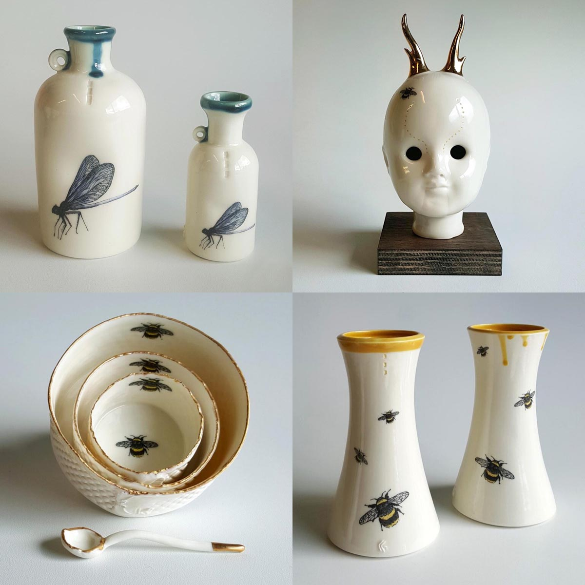 Range of hand made Irish porcelain homeware by Red Earth Designs - photo 1345