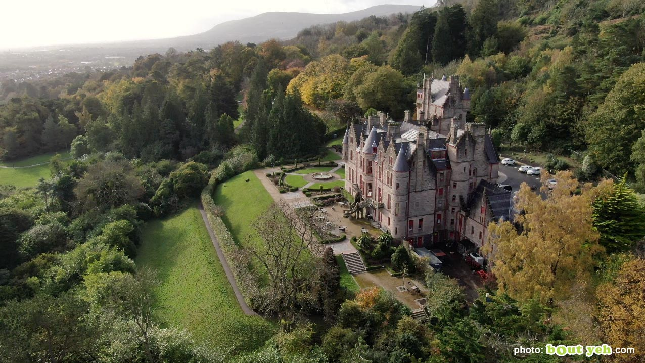 Aerial photo of Belfast Castle and Cave Hill - photo 5 by Bout Yeh aerial drone photography and video production, Belfast