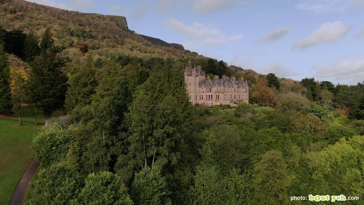 Aerial photo of Belfast Castle and Cave Hill - photo 7 291020