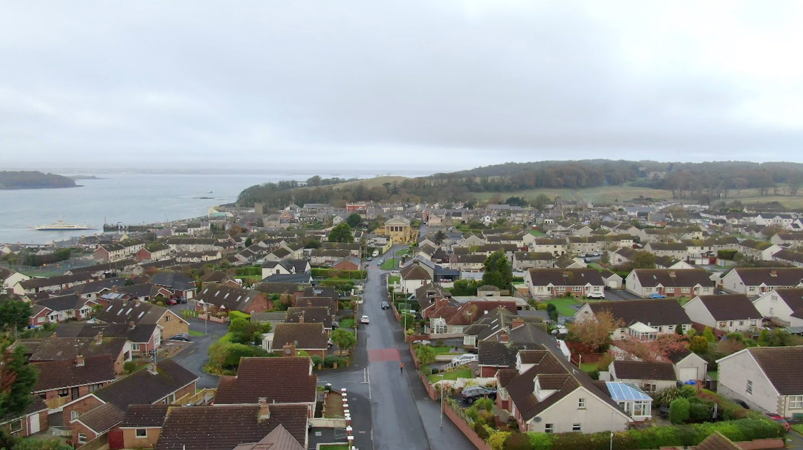 Screenshot of aerial videography of Portaferry County Down by Bout Yeh drone photo video - image 4