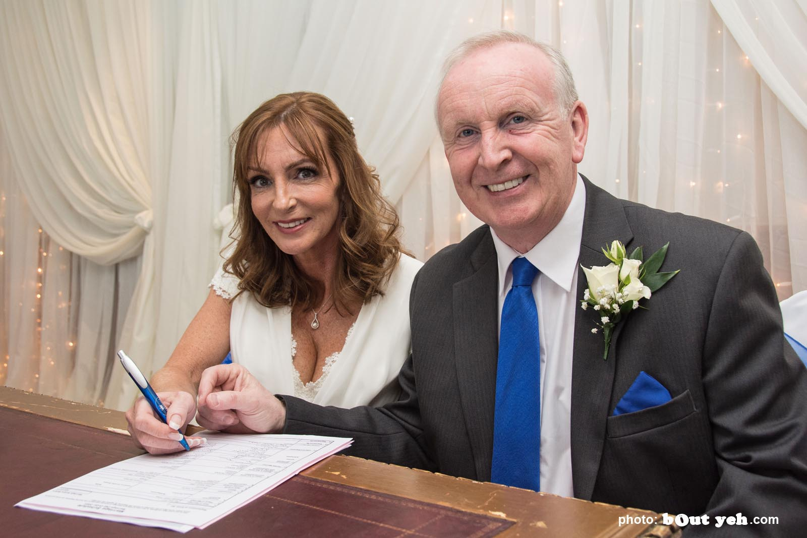 Michael and Annette's wedding photographed by Bout Yeh wedding photographers and video services Belfast and Northern Ireland. Photo 5955