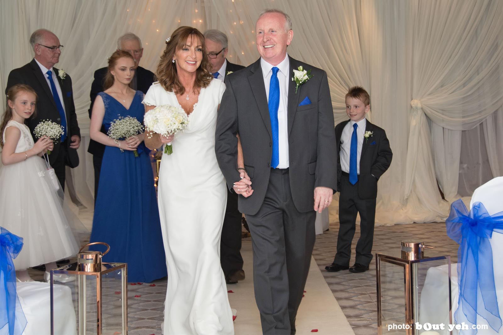 Michael and Annette's wedding photographed by Bout Yeh wedding photographers and video services Belfast and Northern Ireland. Photo 5959