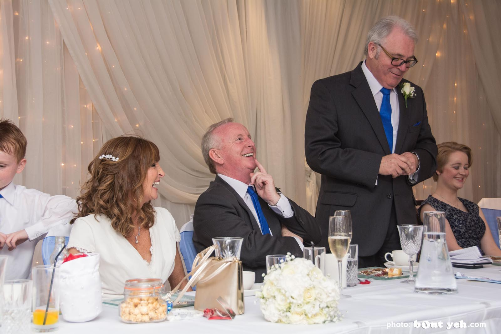 Michael and Annette's wedding photographed by Bout Yeh wedding photographers and video services Belfast and Northern Ireland. Photo 6179